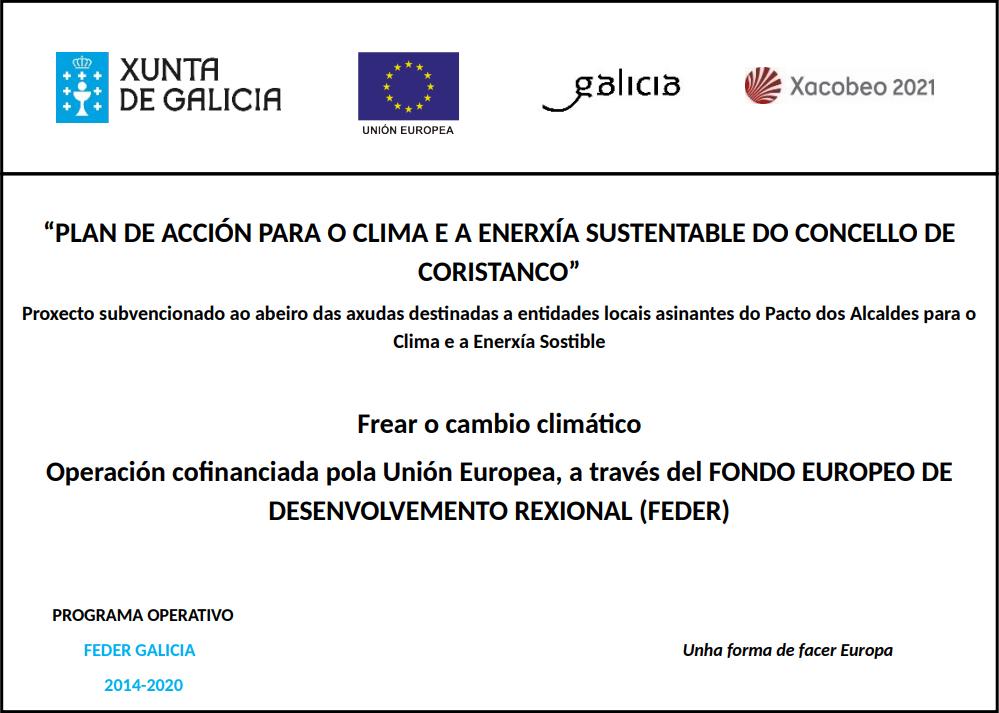 Plan Acción para o clima e a enerxía sustentable do concello de coristanco